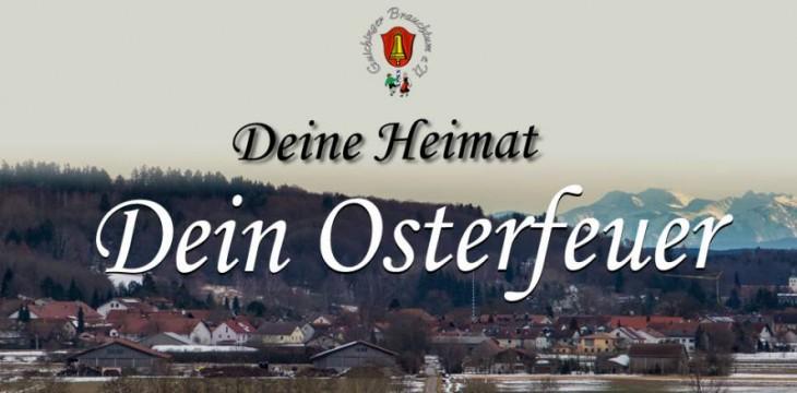 Osterfeuer 2020 – Abgesagt
